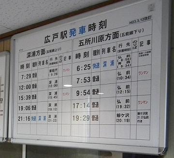 ミニレポ第169回 JR五能線広戸駅