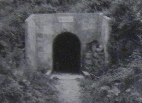 隧道レポート 利賀村の楢尾隧道